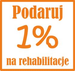 1% na rehabilitację